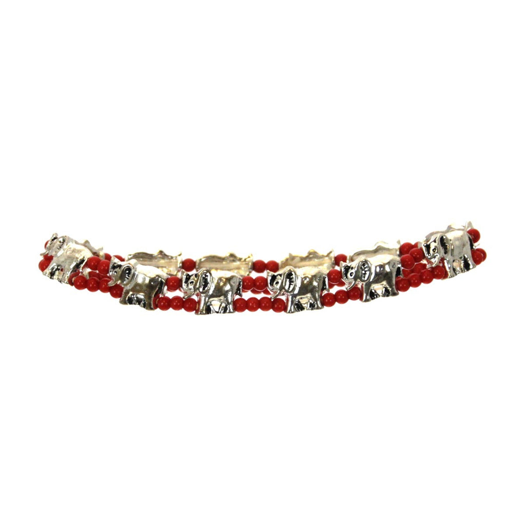 Elephant Stretch Bracelet Beaded