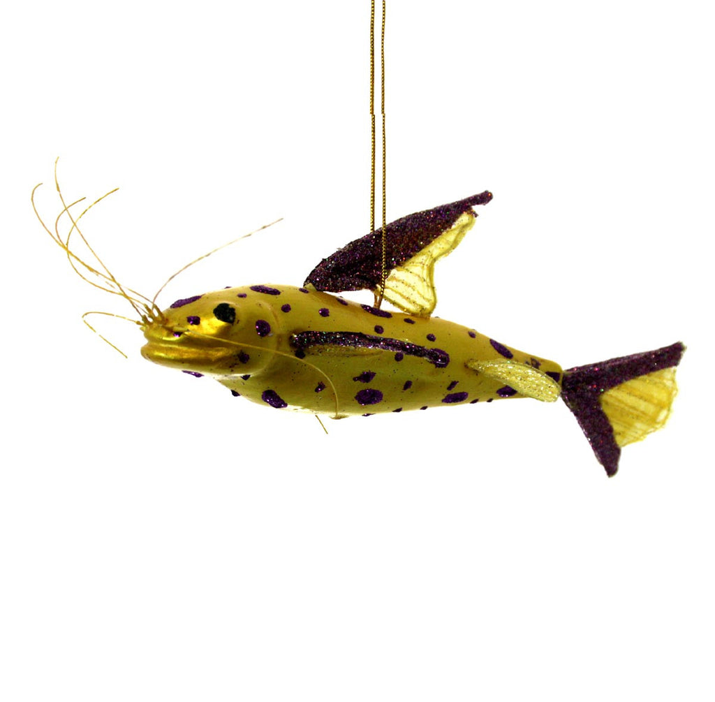 Spot Fish Ornament - Yellow
