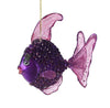 Fish Juliet Ornament Purple