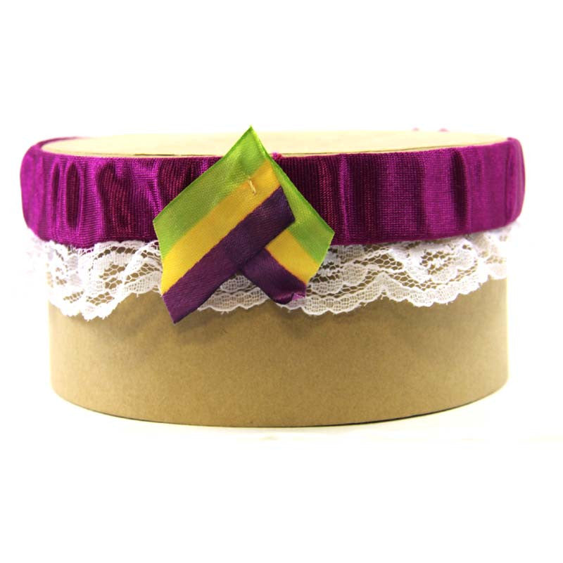 Garter Purple Lace PGG Ribbon