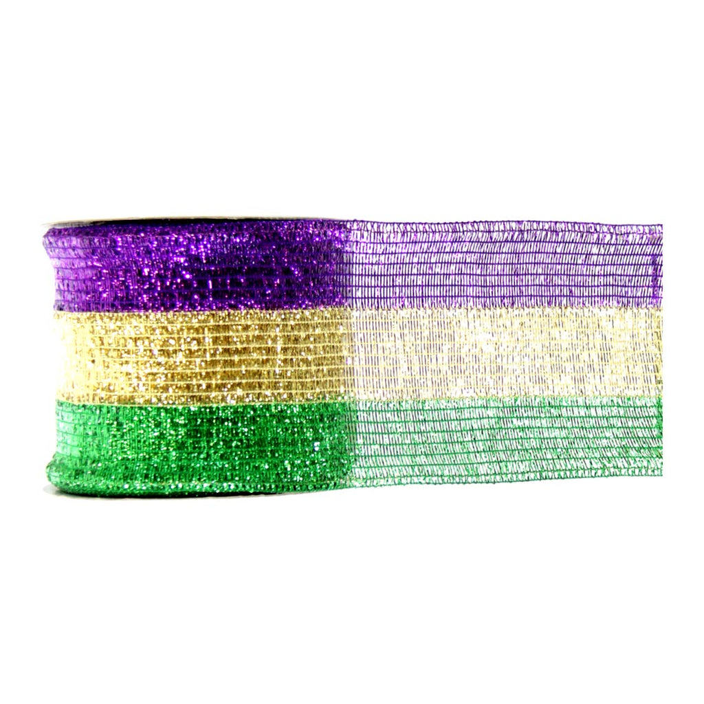 Mardi Gras Royal Flush Ribbon