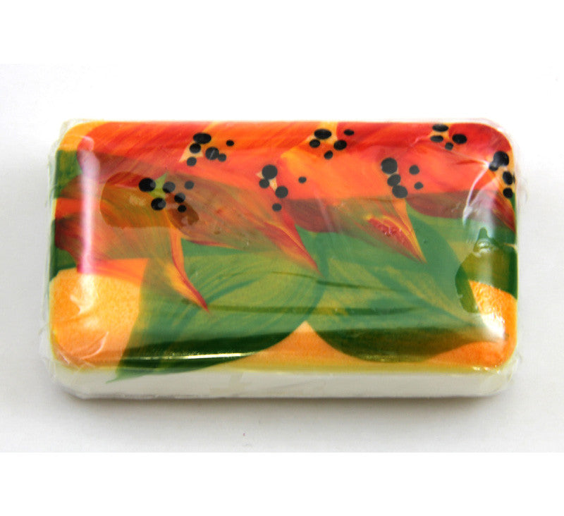 Flower Design Soap Bar