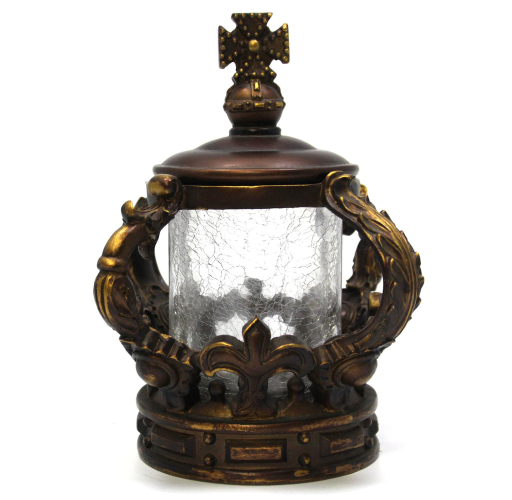 Crown Glass with Lid