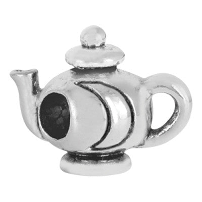 Teapot LuTini Petite Plated Special Interest Bead