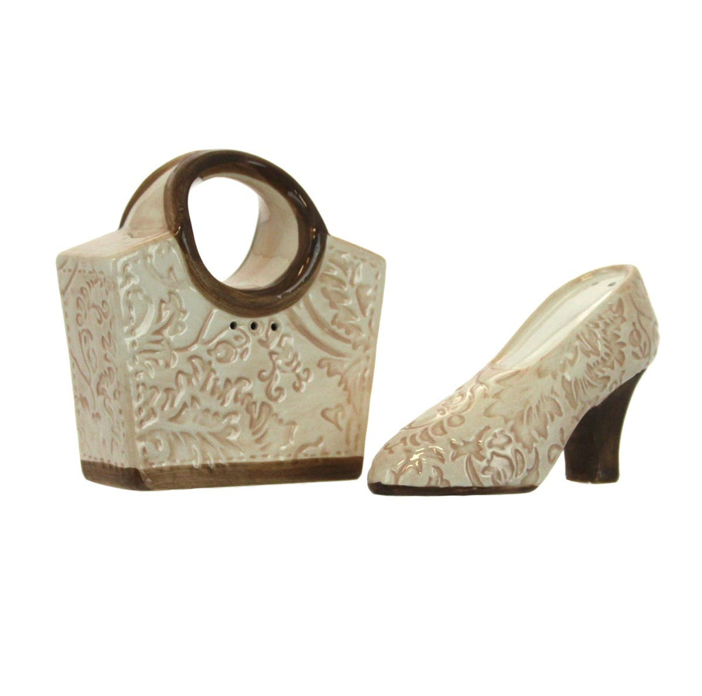 Salt and Pepper Shakers Purse and Shoe