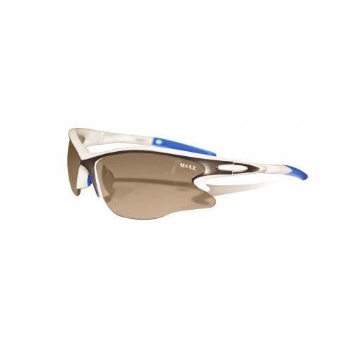 Maxx Envy White with blue Sunglasses
