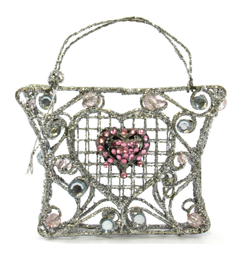 Purse Ornament beaded