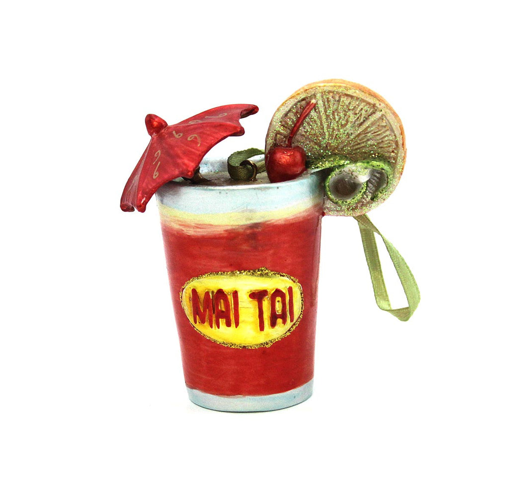 Mai Tai Ornament