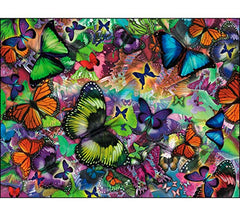 "Birthday Card ""Butterfly Collage"""