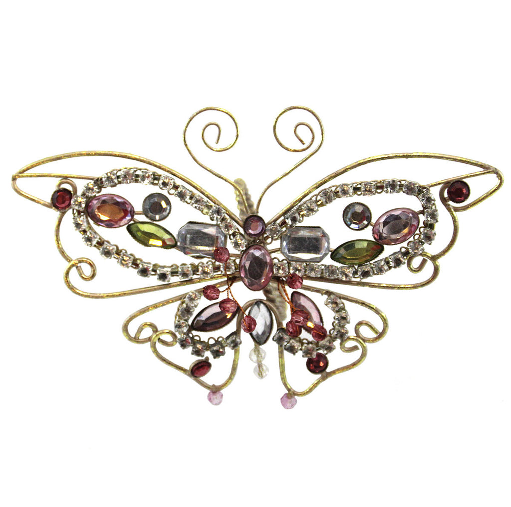 Butterfly Napkin Ring Vertical Ring