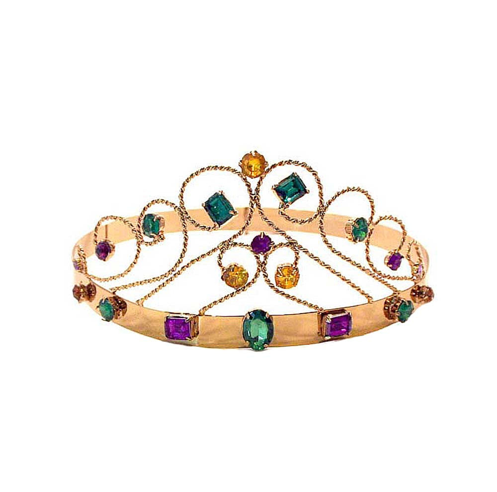 Crown Tiara with Stones