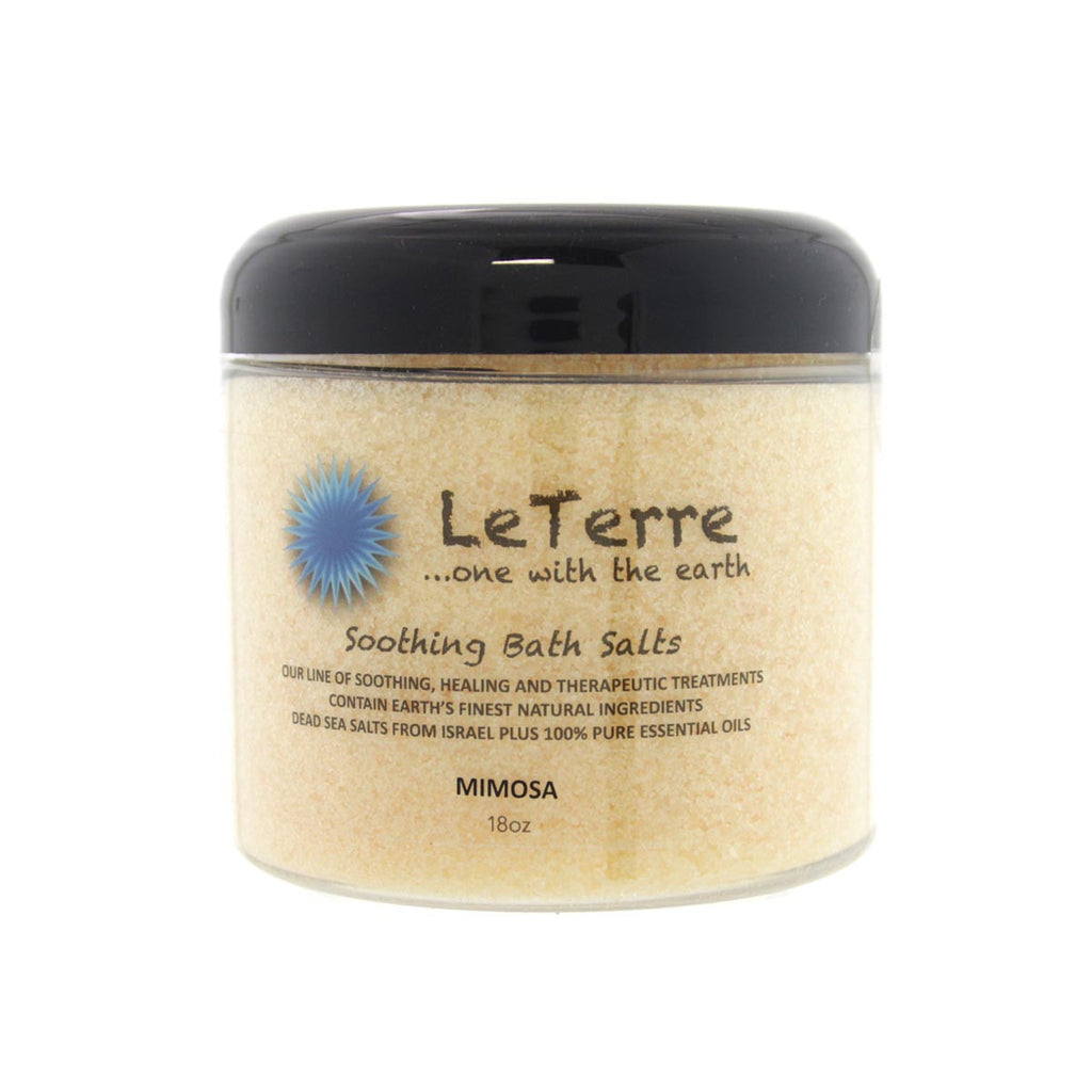 LeTerre Mimosa Bath Salts 18oz