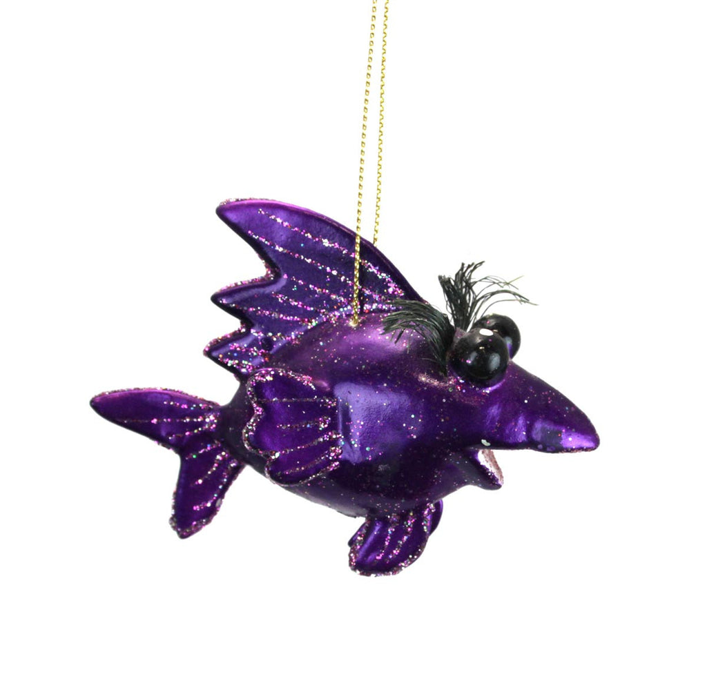 Lucky Ornament - Purple
