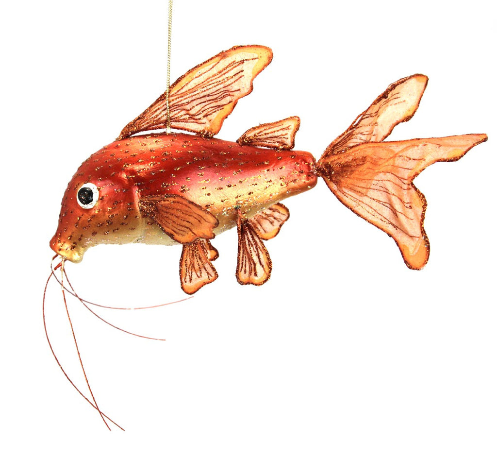 Cory Fish Ornament Orange