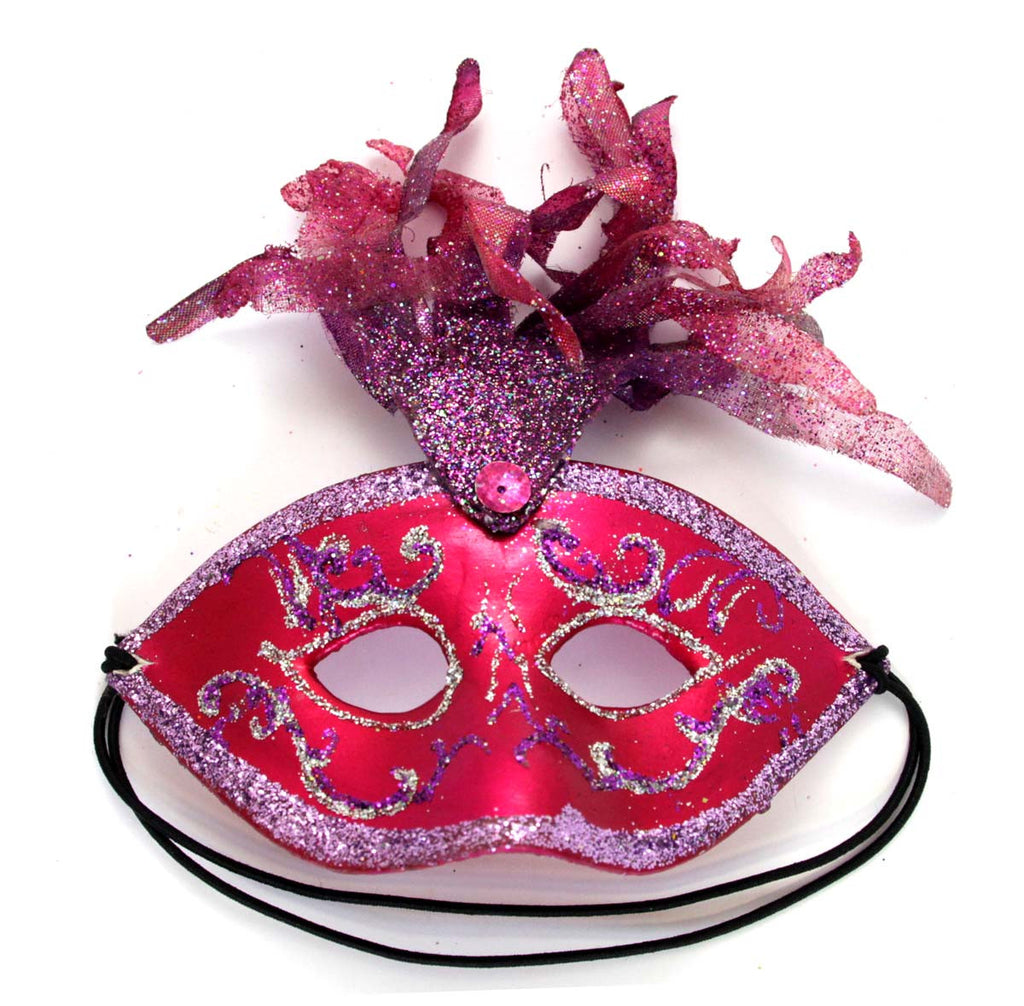 Fancy Mask Purple Ornament