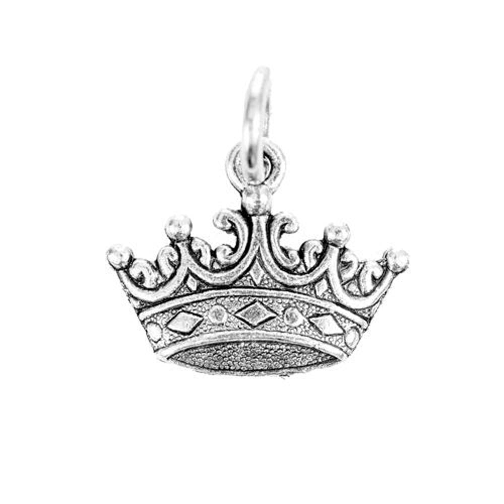 Crown Charm Silver Character