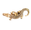 Alligator Charm Gold Character