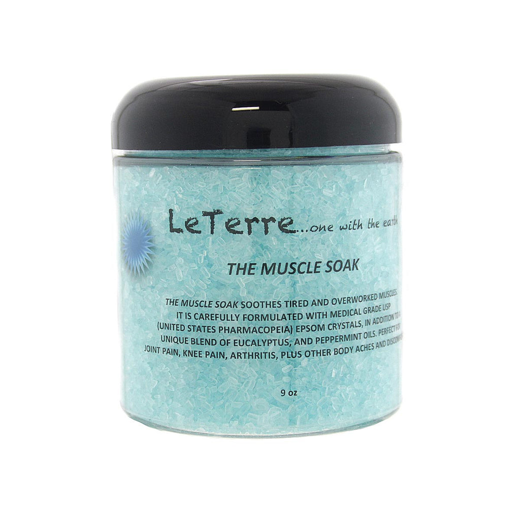 LeTerre Muscle Soak Bath Salts 9oz