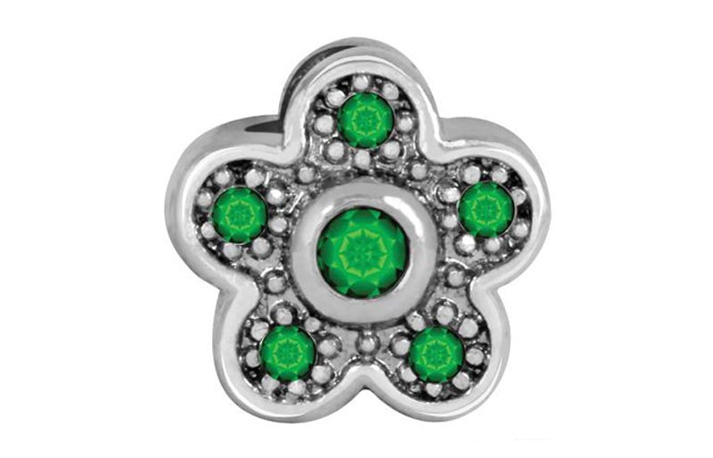 Ivy Flower Bling Bling Bead