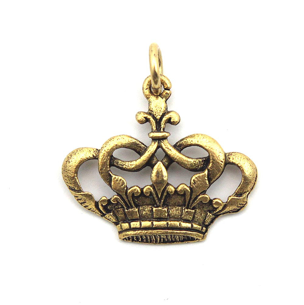 Crown Charm Aimez Gold