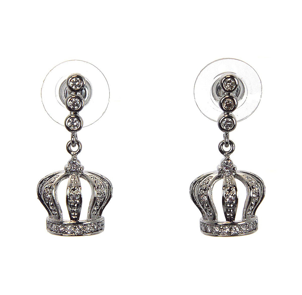 Crown Zirconia Earring