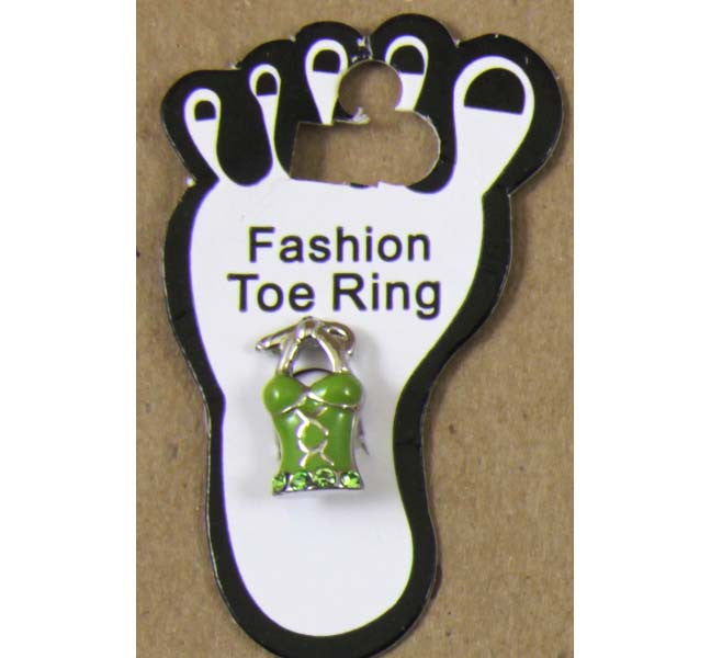 Toe Ring Woman's Top Green