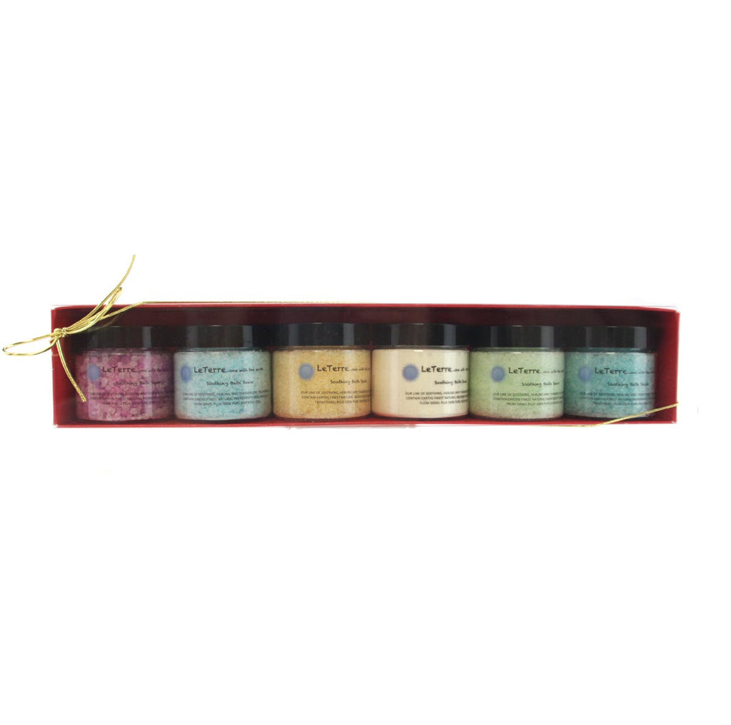 LeTerre Bath Salts Gift Set