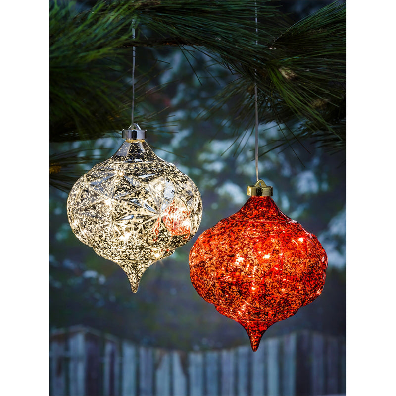 "6"" Shatterproof Outdoor LED Ornament"