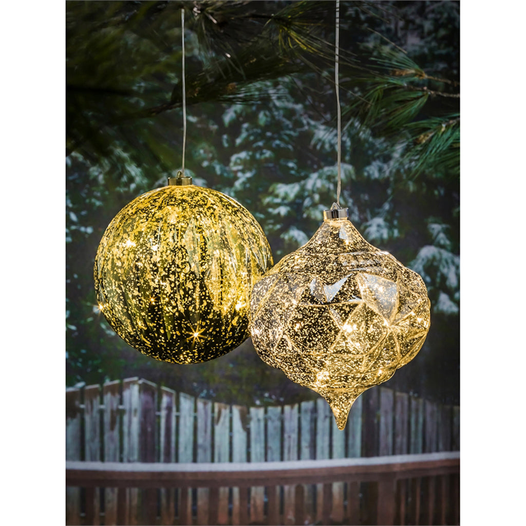 "8"" Shatterproof Outdoor LED Ornament"
