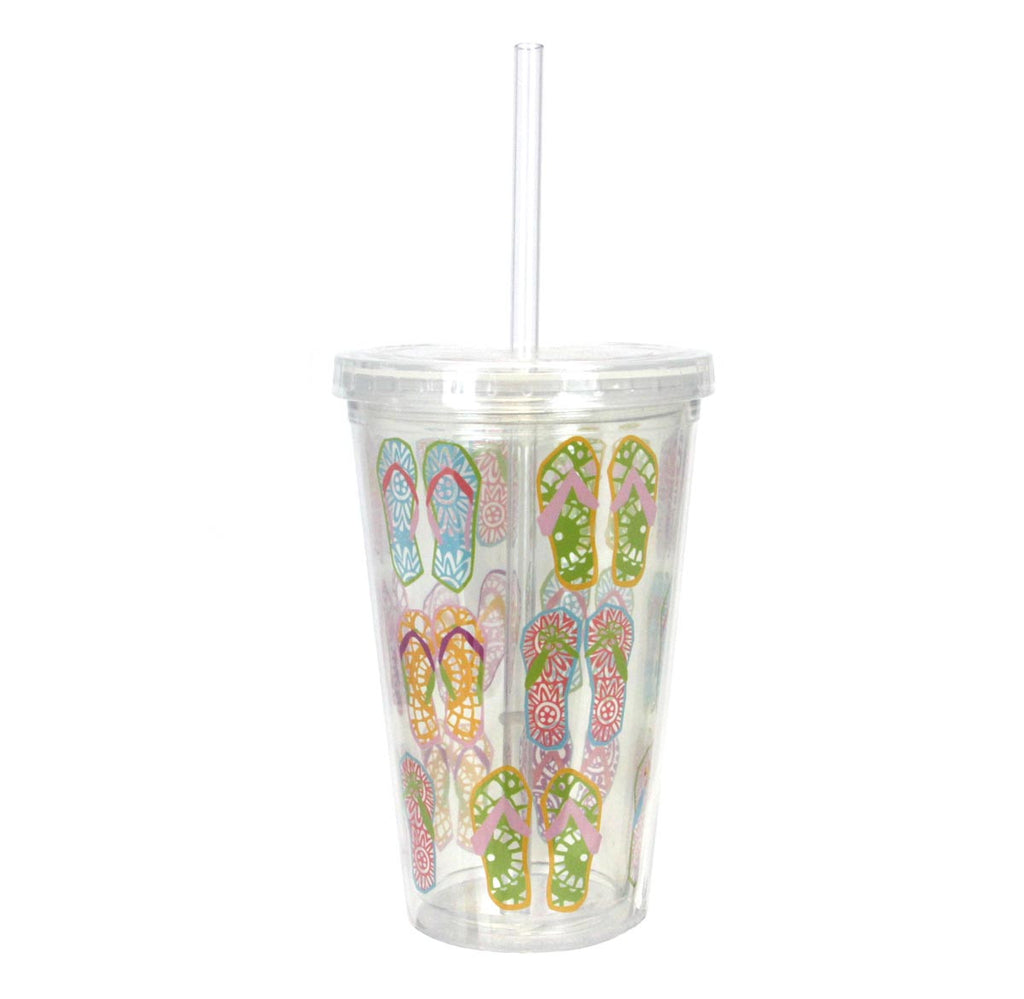 Double-Wall Insulated Tumbler Flip Flop