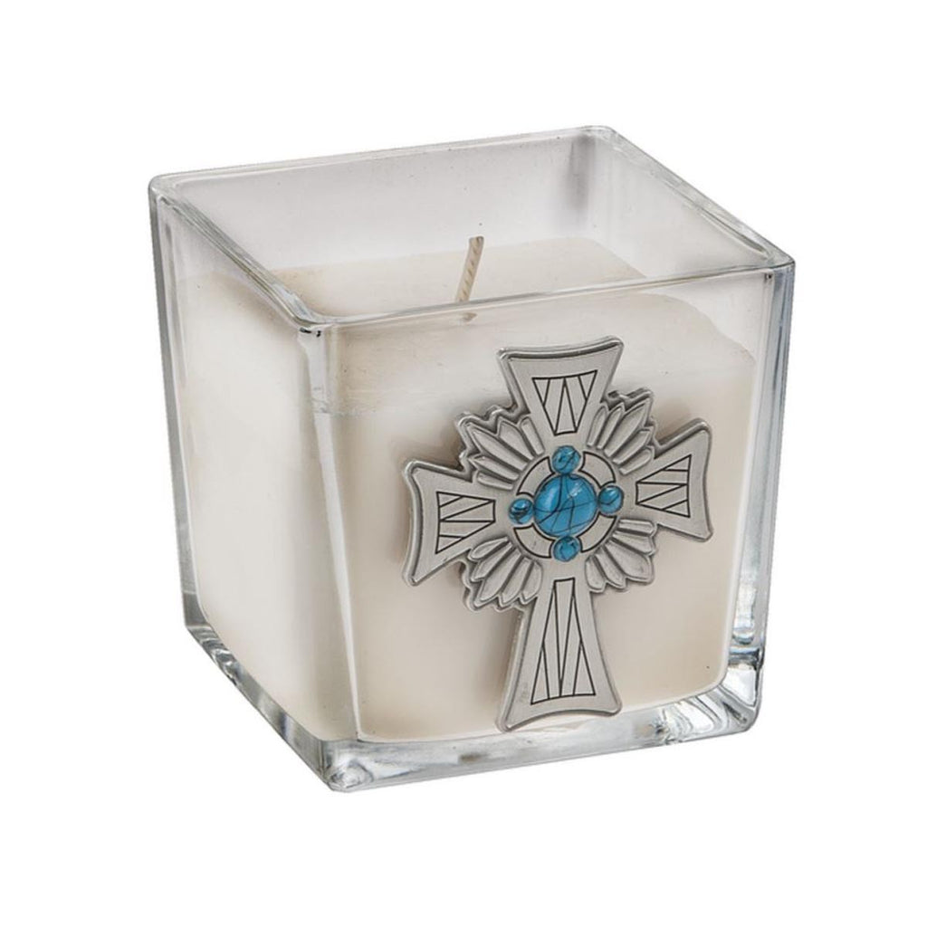 Candle - Cross/Sandalwood Fragrance