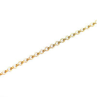 Gold Ladder Chain 36""