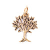 Tree Gold Character Charm