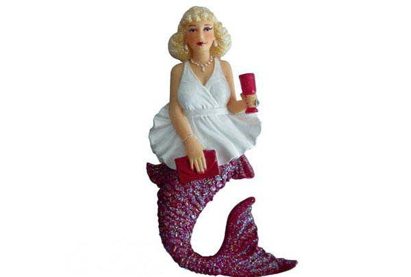 December Diamonds Merry Merlot Mermaid Magnet