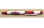 Ink Pen Confederate Flag red barrel