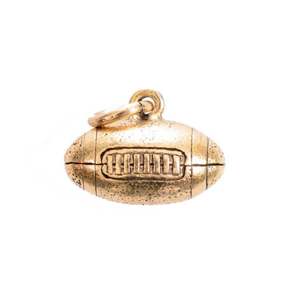 Football Gold Character Charm