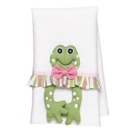 Frog Towel Pink Design