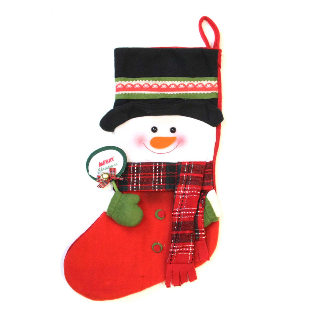 Stocking Snowman Christmas
