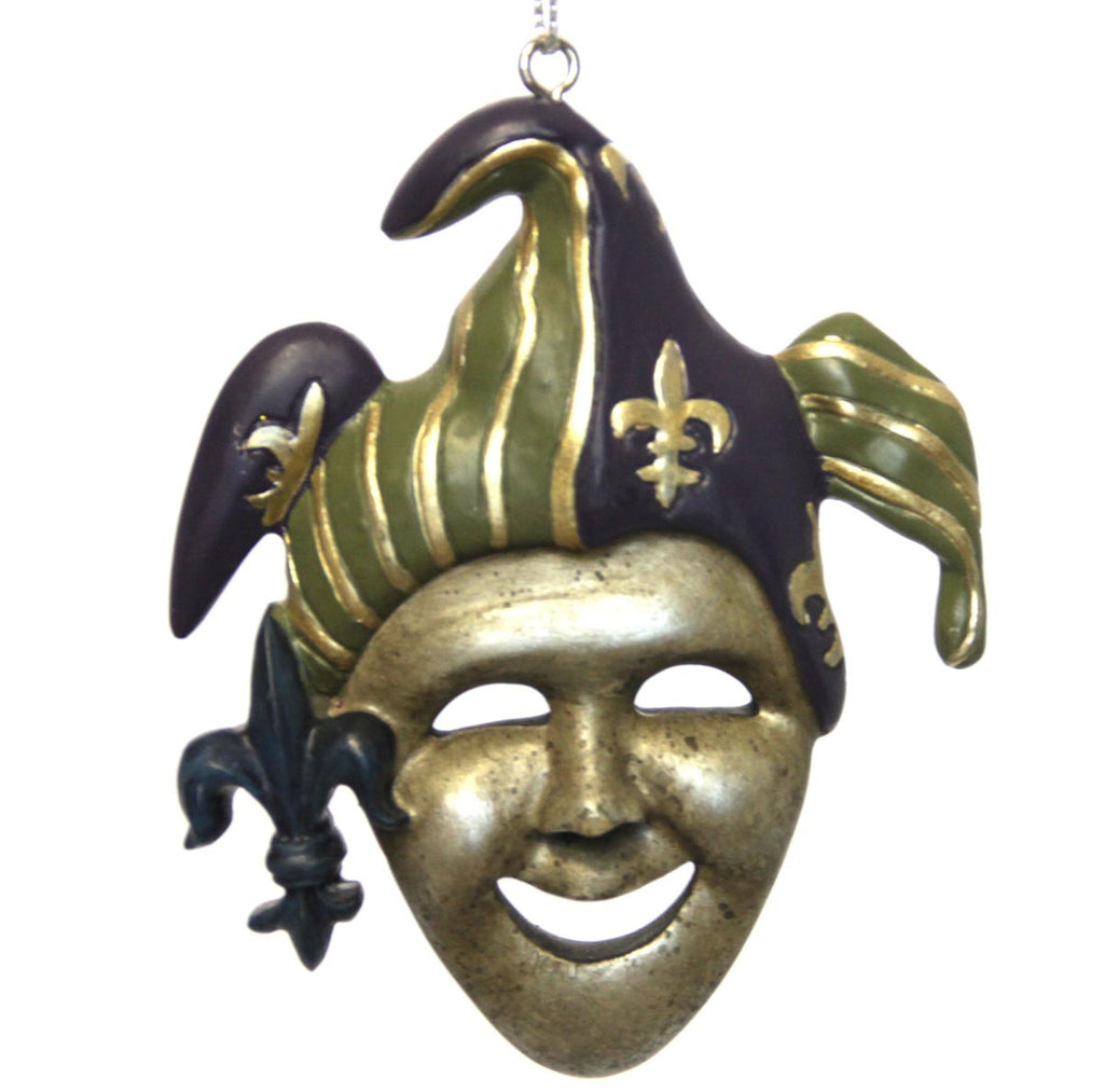 Flat Jester Ornament