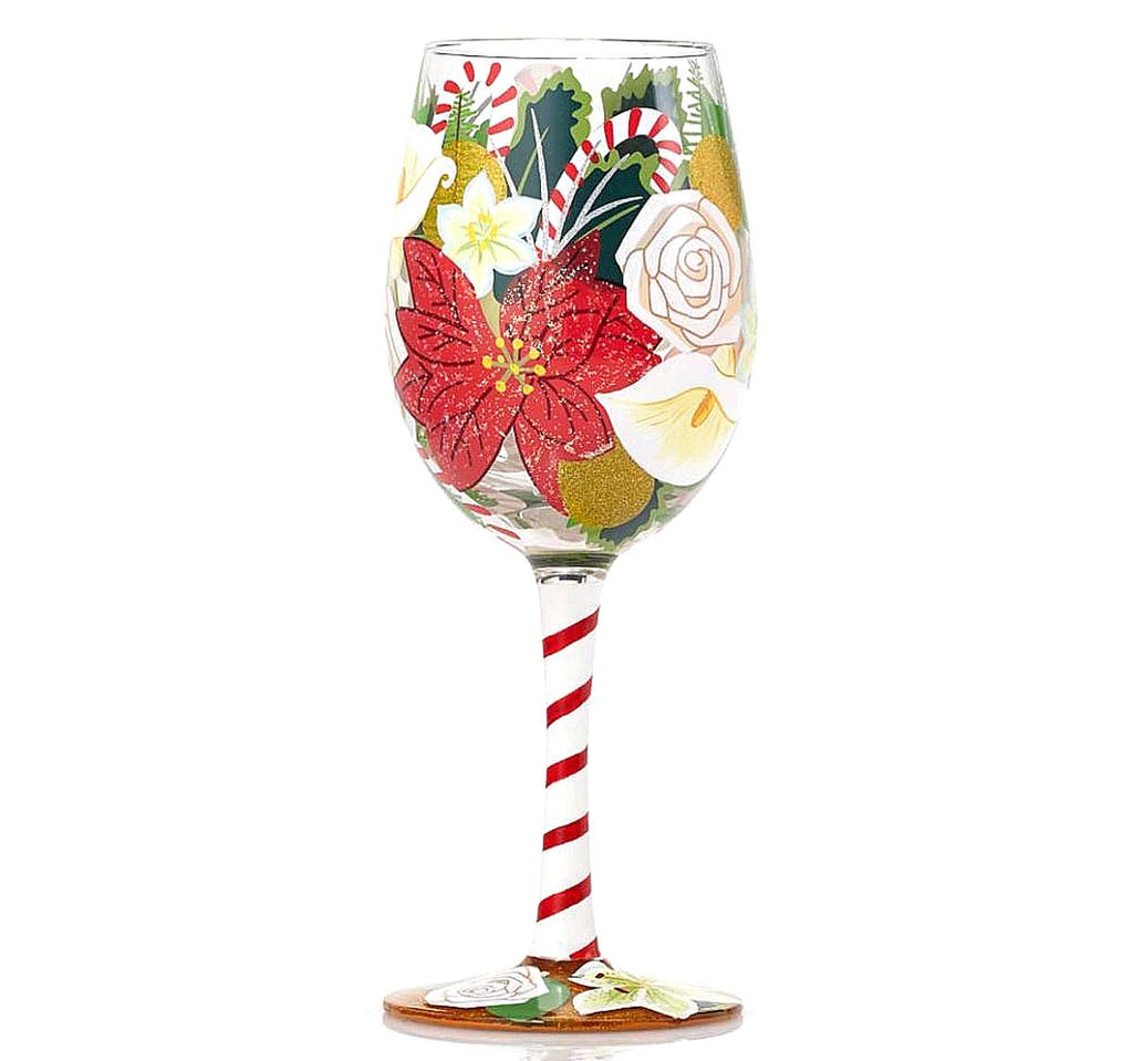 Lolita Wine Glass Holiday Bouquet 4