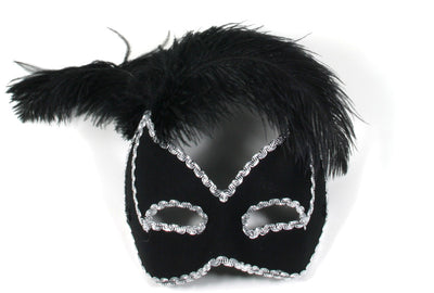 Black Feathers Black Mask