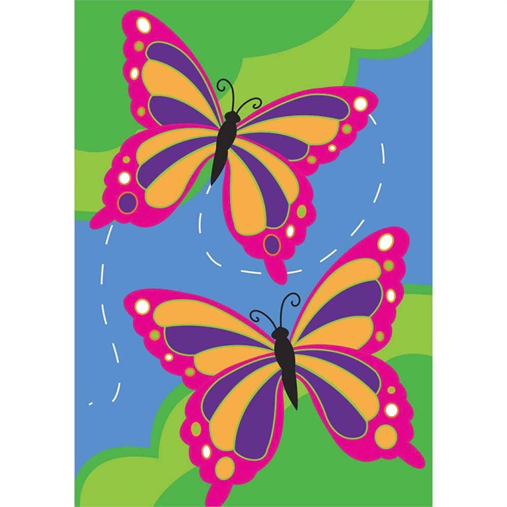 "Butterflies Flag 29"" X 42"""