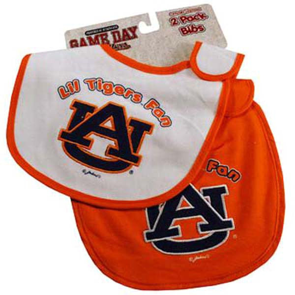 Auburn Infant Bibs Set of 2