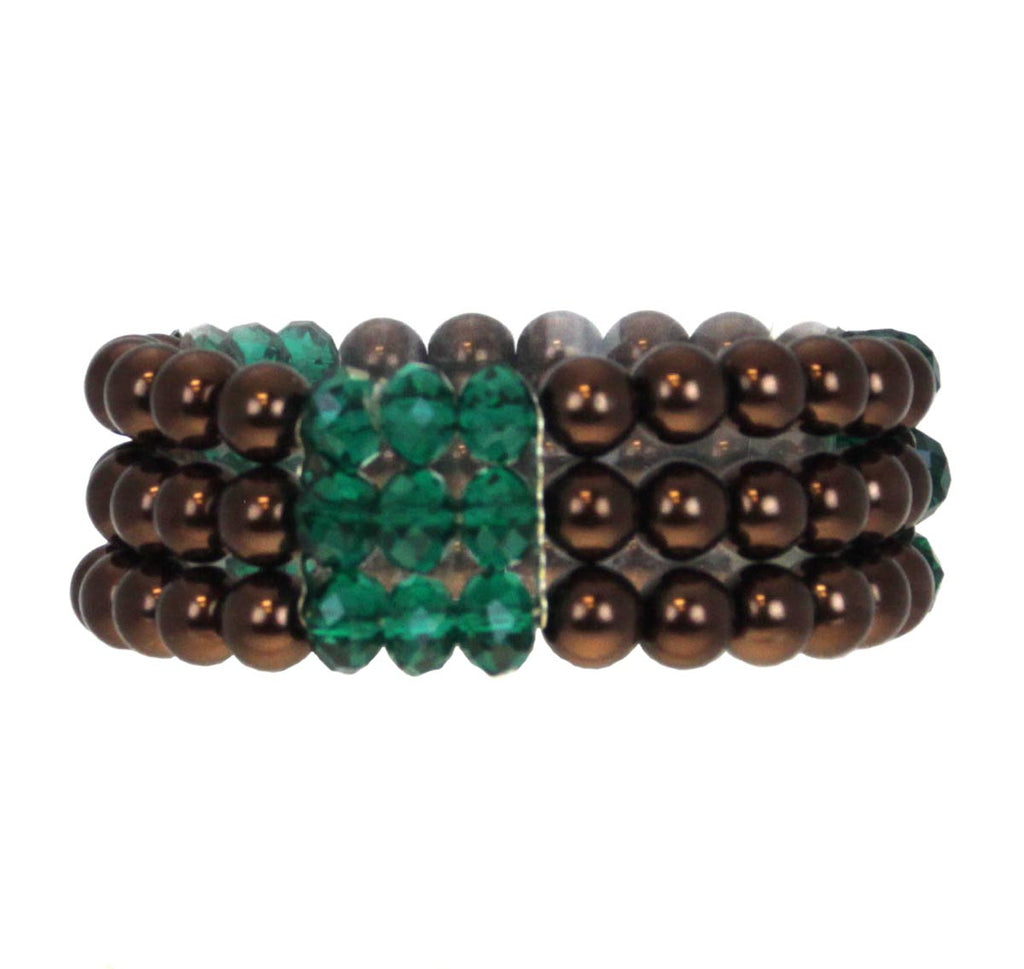 Love Match Bracelet Brown/Green