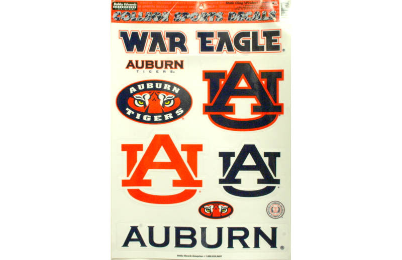 Auburn Sports Decals