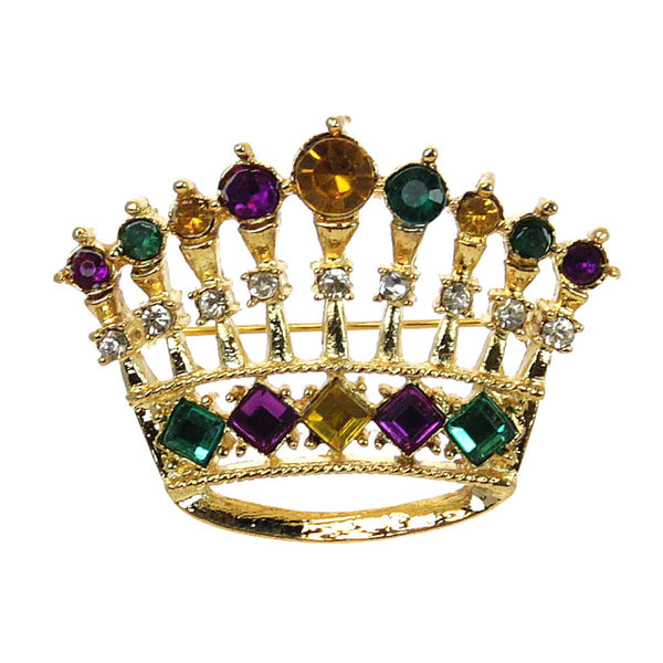 Crown Pin, Mardi Gras