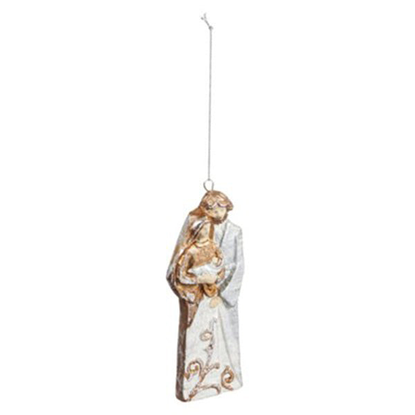 Holy Family Paperstone Ornament