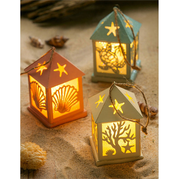 LED Lantern Ornaments, Coastal