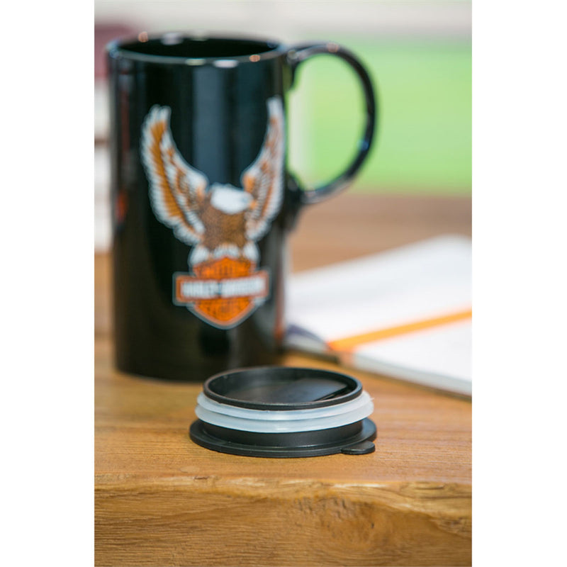 Harley Davidson Ceramic Travel Cup w/box