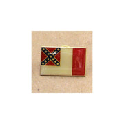 "Hat Tac Third National Confederate Flag ""Blood Stained Banner"""